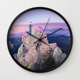 crstl mtn Wall Clock