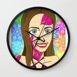 paraguayan girl Wall Clock