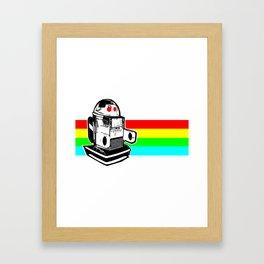 Robo Rainbow Framed Art Print