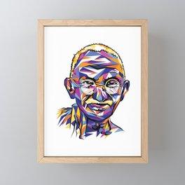 Legend of the fall – Ghandi Framed Mini Art Print