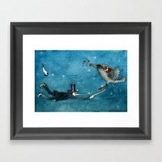dream - the escape Framed Art Print