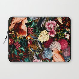 Floral and Animals pattern II Laptop Sleeve