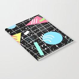 Memphis Style Vibes (Dark) Notebook
