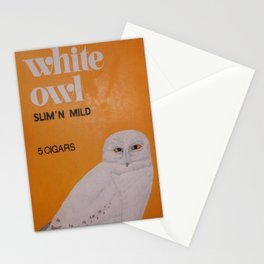 White Owl Cigars Stationery Cards