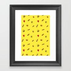 Fast Food Friday Framed Art Print