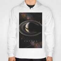 saturn Hoodies featuring SATURN by Alexander Pohl