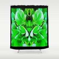 grumpy Shower Curtains featuring Grumpy Fauna by Pepita Selles