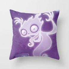 Ghostie Throw Pillow