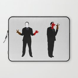 The rabbit and the wolf Laptop Sleeve