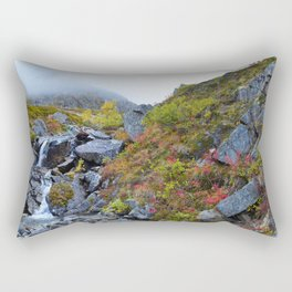 Independence Mine Waterfall Rectangular Pillow