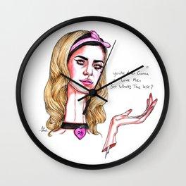 Marina // Lies Wall Clock
