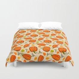 Pumpkins pattern I Duvet Cover