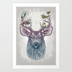 Magic Buck Art Print