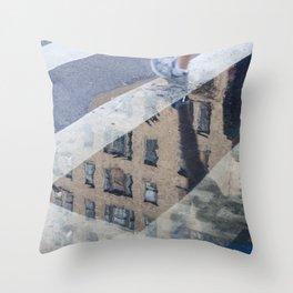 Cross Over Throw Pillow