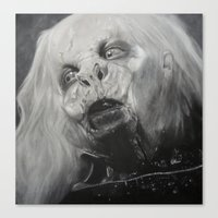 dracula Canvas Prints featuring Dracula by Jasmine