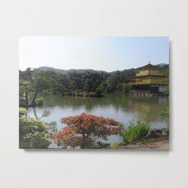 The Golden Pavilion II Metal Print