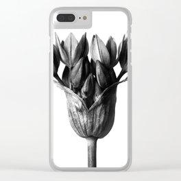 Karl Blossfeldt Botanical Print III Clear iPhone Case