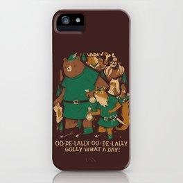oo-de-lally (brown version) iPhone Case