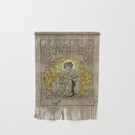 The Raven. 1884 edition cover Wall Hanging