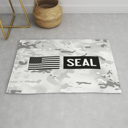 Seal (Arctic Camo) Rug