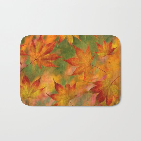 Falling Leaves - Autumn Bath Mat