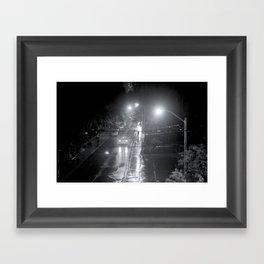 COLLEGE Framed Art Print