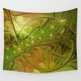 Hope, Abstract Fractal Art Wall Tapestry
