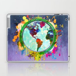 World Map - 2 Laptop & iPad Skin