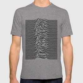 Joy Division - Unknown Pleasures [Black Lines LP] T-shirt