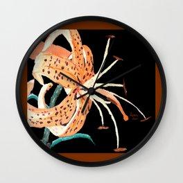 Tiger Lily... Wall Clock