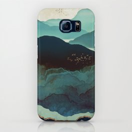 Indigo Mountains iPhone Case