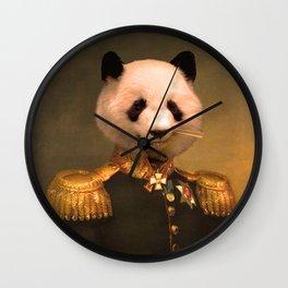 Panda Bear General | Cute Kawaii Wall Clock