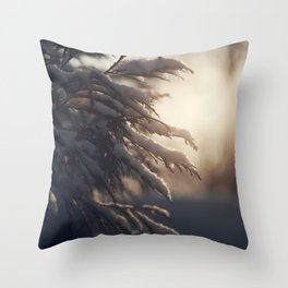 Winter Morn Throw Pillow