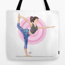Dancer's Pose Tote Bag