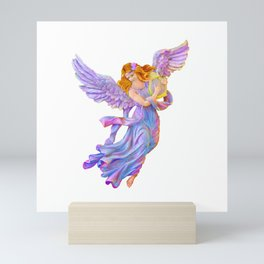 The Antique Angel Muse - Love of Poetry Mini Art Print