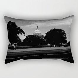 Guarding the Capitol Rectangular Pillow
