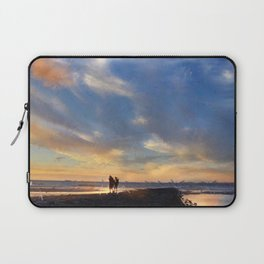 Evening by the sea Laptop Sleeve