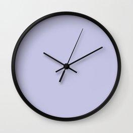 Plain Lilac Purple Wall Clock