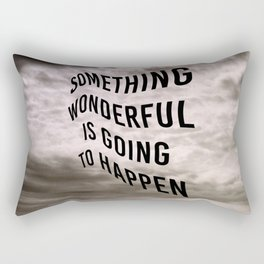 The Optimist Rectangular Pillow