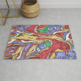 Complex waters Rug