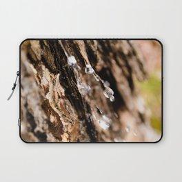 Tree Bark Macro Laptop Sleeve
