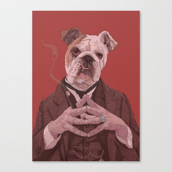 I know you're lying... Canvas Print