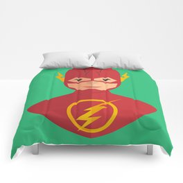 flat for flash Comforters