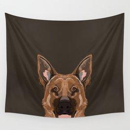 Skylar - German Shepherd gifts for dog people dog lover gifts german shepherd owners perfect gifts  Wall Tapestry