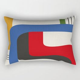 TAKE ME OUT (abstract geometric) Rectangular Pillow
