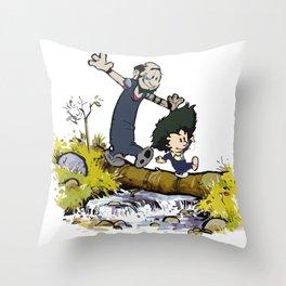 Cowboy & Bebop Throw Pillow