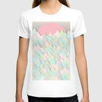 pastel T-shirts featuring Forest Pastel by dogooder