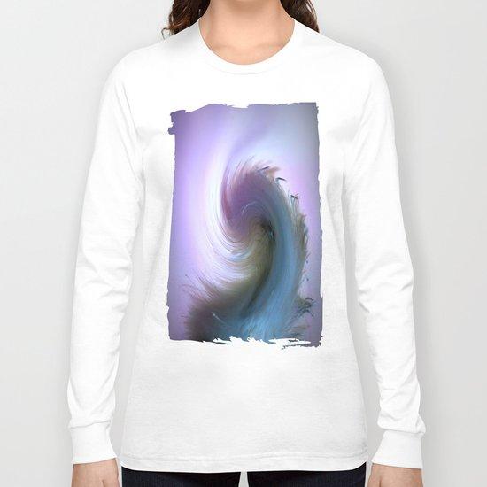 Swirled Long Sleeve T-shirt