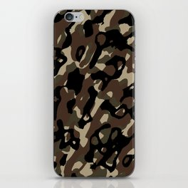 Camouflage Abstract iPhone Skin