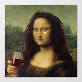 Drunk Lisa Leinwanddruck